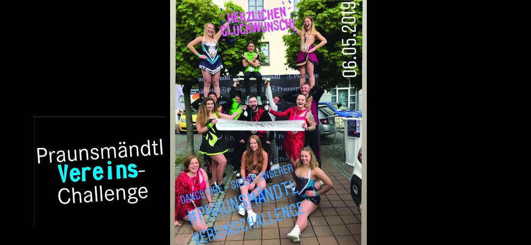 Gewinner #Praunsmändtl VereinsChallenge