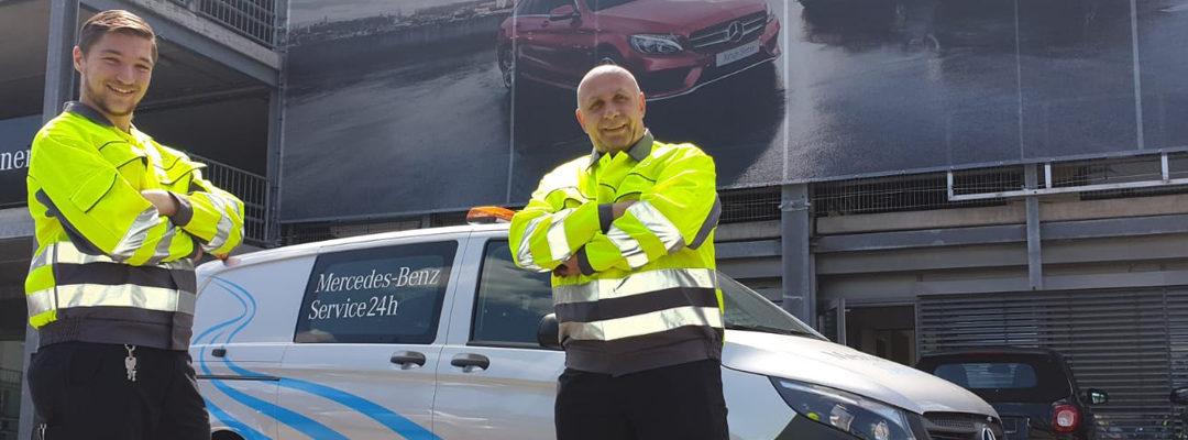 24h Mercedes-Benz Service – Wir sind immer für Sie da!