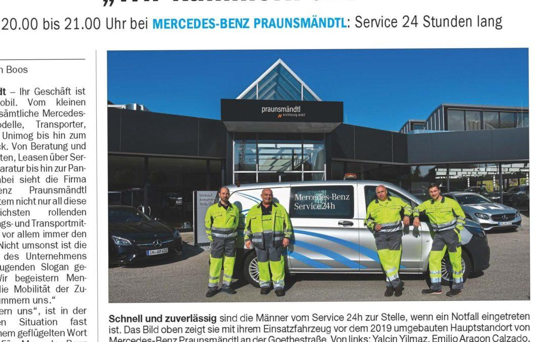 Service 24 h im Donaukurier